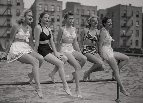 Praia anos 40
